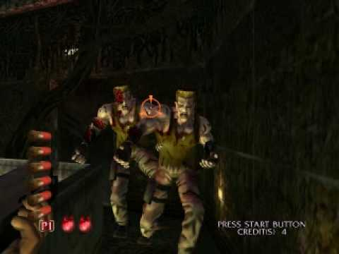 The House Of The Dead 3 Zombie Guile Youtube