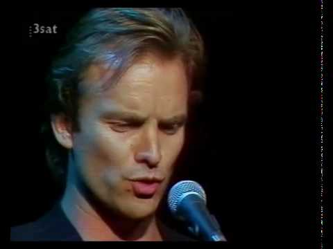 Sting sings Brecht Die Moritat vom Räuber Mackie Messer (Musik Kurt Weill) Dreigroschenoper