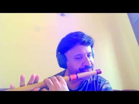 Flute rendition of Malare Mounama