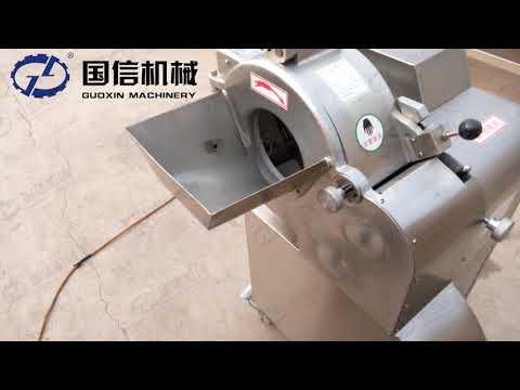 Clean and sanitation ginger dicing machine