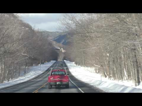 A Winter Trip to New Hampshire in 4K