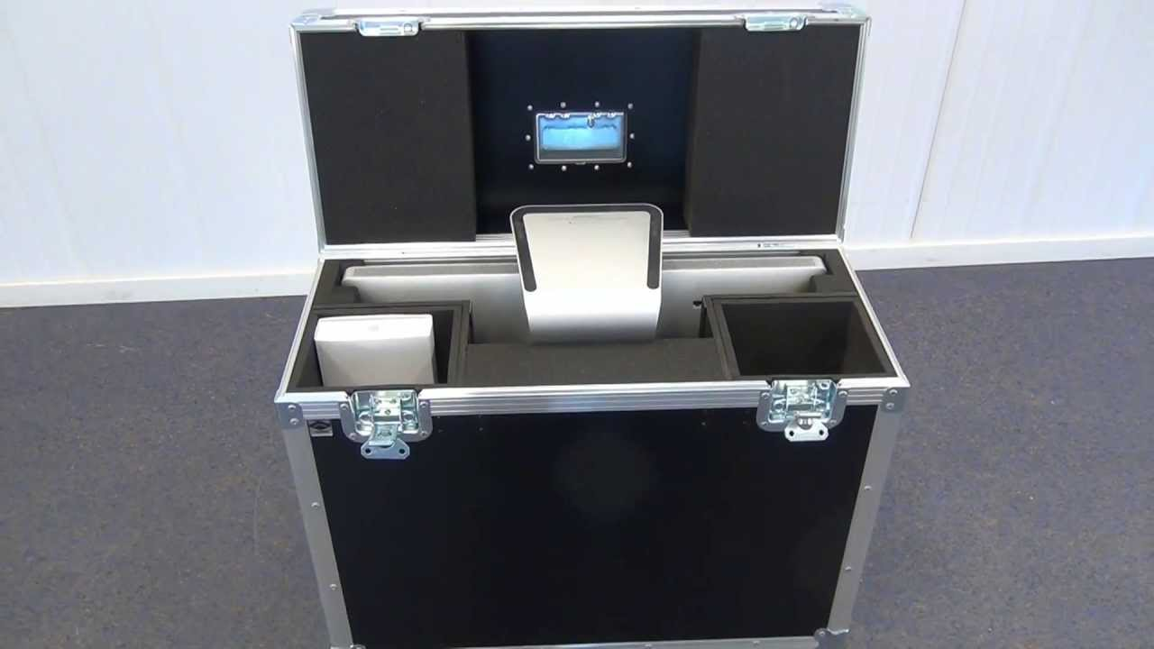 watch 5ee3f 626ed Capro presenterer Flightcase for iMac 27-tommer