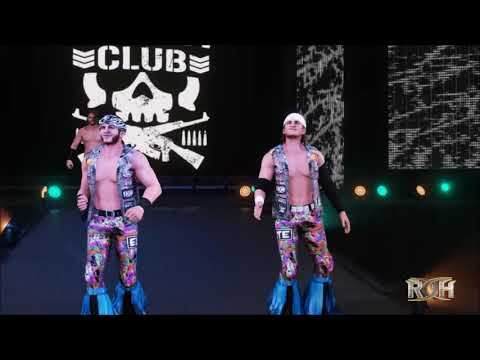 Young Bucks Entrance - WWE 2K18 with Titantron