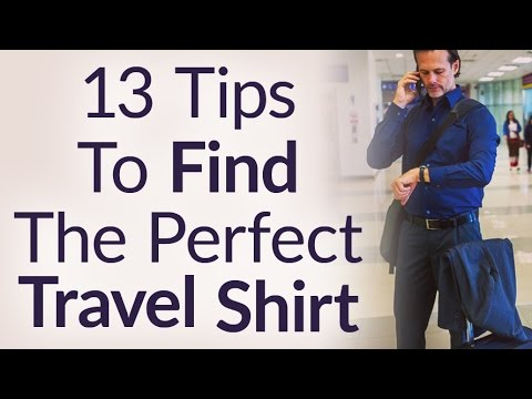 How To Find The Perfect Travel Shirt? Best Shirts For Traveling The World In Style | RMRS