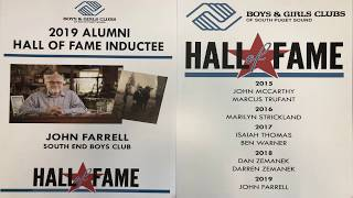 John Farrell - Hall of Fame Induction Speech (Boys & Girls Clubs of South Puget Sound)