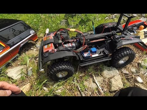 Traxxas TRX4 Ford Bronco GoPro Hero 5 Session ActionCam TEST