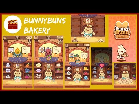 BunnyBuns Walkthrough - BunnyBuns Bakery And Cupcake Recipe (iOS)