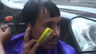30 rupee roadside haircut in Mumbai