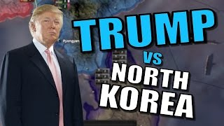 TRUMP V NORTH KOREA | Hearts of Iron 4: Together for Victory - USA Modern Day Mod [Gameplay] Part 8