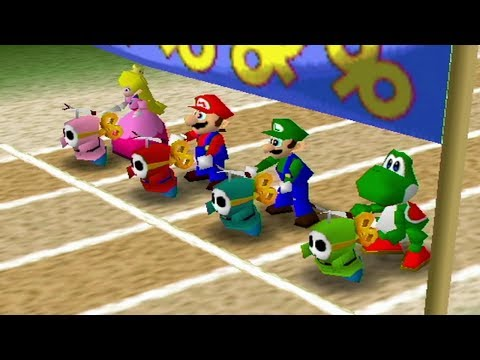 Mario Party 2 - All 4-Player Minigames