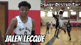 Jalen Lecque is Baby Westbrook! RENS Debut!! Official Spring Fling Mixtape! Full Highlights!