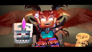 Supernatural Mobs: Skeleton King vs Herobrine! (Minecraft Animation)(Minecraft has a brand new Minecraft Animation based off the Supernatural Mobs Universe! The Minecraft Skeleton King is fighting Herobrine in herobrines ..., 2016-04-22T20:18:34.000Z)