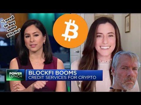 "CNBC: ""You'll earn Bitcoin rewards + 8.6% returns on your crypto"". Flori M. Michael Saylor🔥📊🚀"