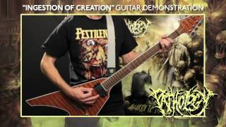 "PATHOLOGY ""Ingestion of Creation"" Guitar Demonstration"