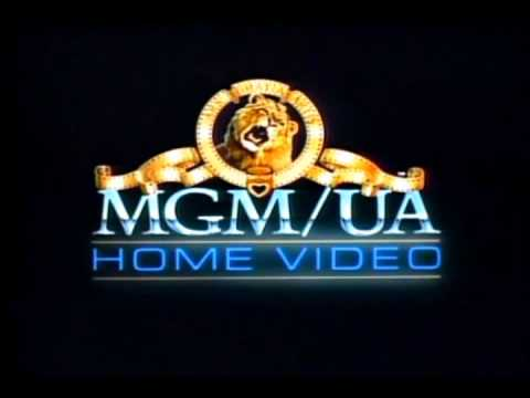 MGM/UA Home Video 1982 logo with MGM/CBS music