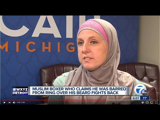 Video: CAIR-MI Files Civil Rights Complaint for Muslim Boxer Barred from Competition Over Beard