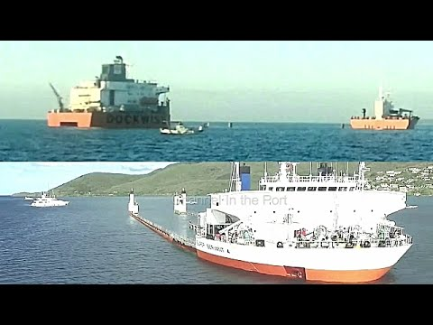 WATCH loading on 2 semi-submersibles ships, yachts and floating crane !