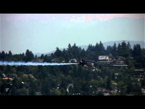 Blue Angels and other airshow acts at SeaFair, 2014