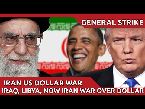 USA Provoking War With Iran Over Dumping US Dollar.