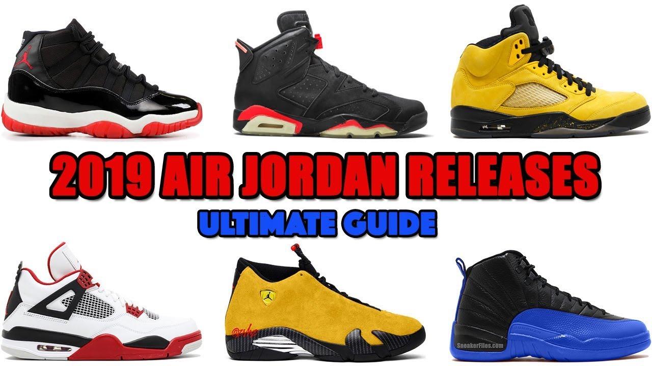 latest jordans released