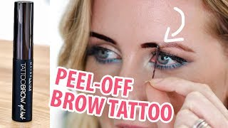 Download NEW MAYBELLINE 3 DAY BROW TATTOO | Review & Demo Mp3 and Videos
