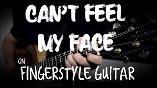 Cover images Can't Feel My Face (The Weeknd) - Fingerstyle Guitar Cover by Jason Swanson