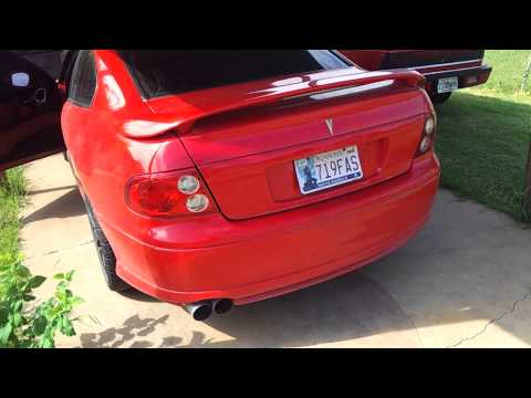 2004 pontiac GTO, MS4 cams and straight pipes