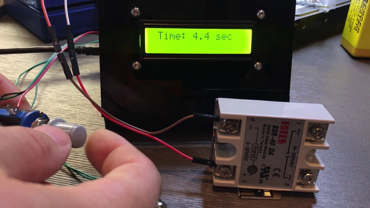 Arduino Based Timer Prototype To Handle Ssr40 Dd Solid State Relay Taiwan