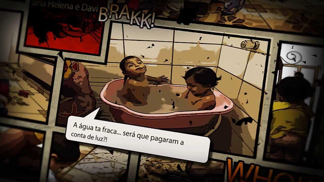 Maria Helena e Davi (Comic book - After Effects project Brazil)
