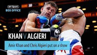 Amir Khan v Chris Algieri official highlights