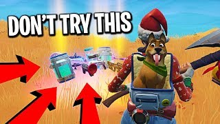 Swapping loot after EVERY kill challenge in Fortnite...