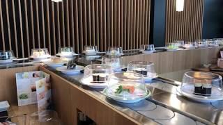 tapis roulant restaurant de sushis matsuri
