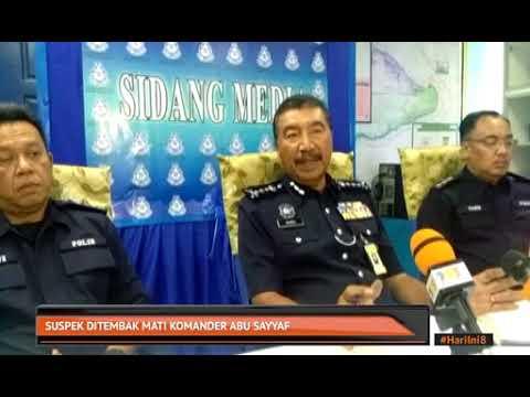 Suspek ditembak mati komander Abu Sayyaf