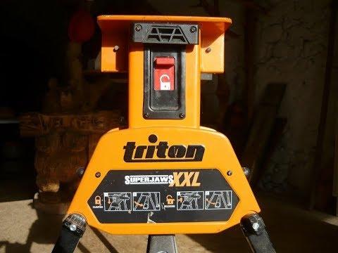 Avis d'artisan : le superjaws XXL de Triton Tools