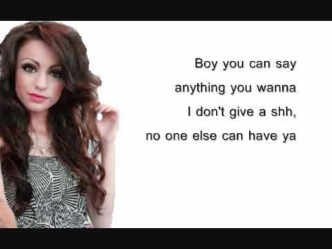 Want U Back - Cher Lloyd - Lyrics