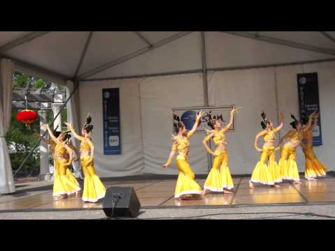 China Chinese Goddess Dance At Asian Festival in Columbus Ohio 2013