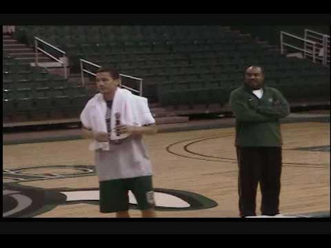Gary Waters and CSU Basketball duce 20092010 Team