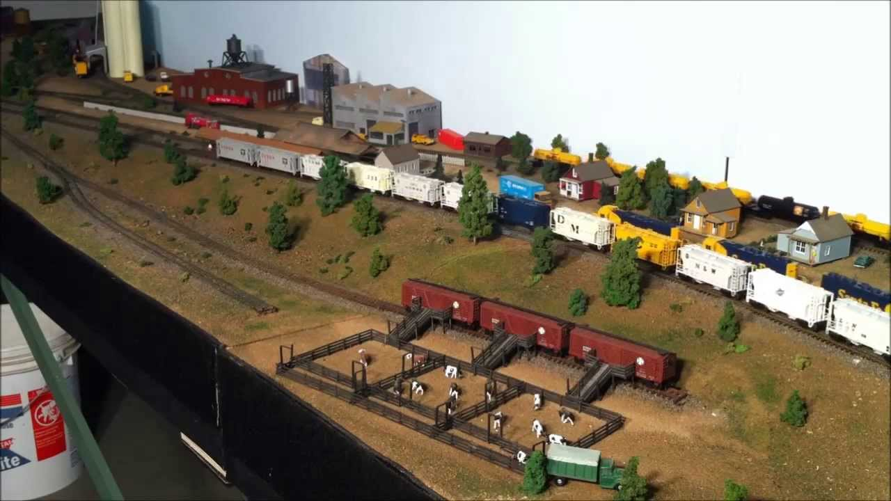 Stock Yard View of the Industrial Area - YouTube