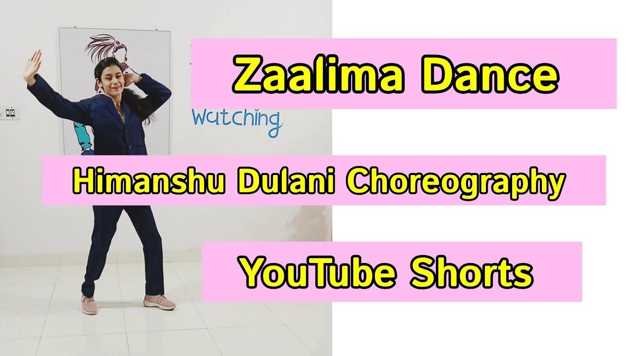 Zaalima Dance | @Himanshu Dulani Choreography |Performed By Amisha Modha | #shorts #ytshorts