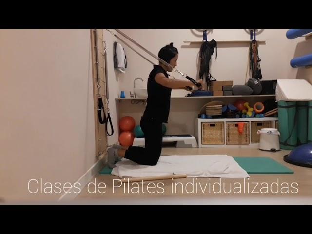 Clase de Pilates con Springboard