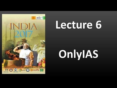 Lecture 6, India Year Book 2017