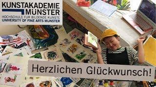 자복 Vlog #25 독일미대 합격했어요!!!!!!!!…