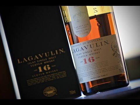 Lagavulin 16, односолодовый шотландский виски.