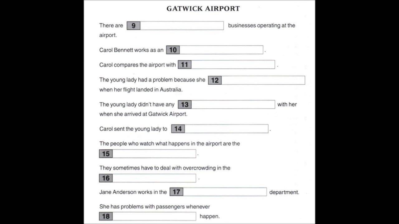 Fce test pdf