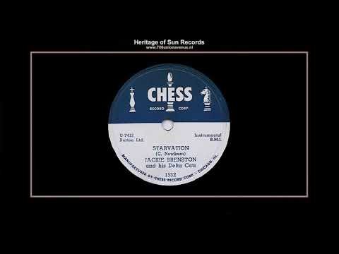 (1952) Chess 1532-B ''Starvation'' Jackie Brenston & His Delta Cats