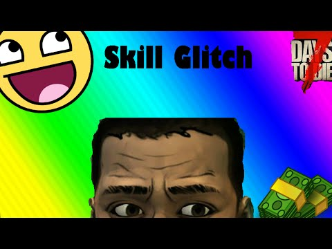 7 Days To Die Skill Glitch Ps4 and Xbox!!! (Must watch)