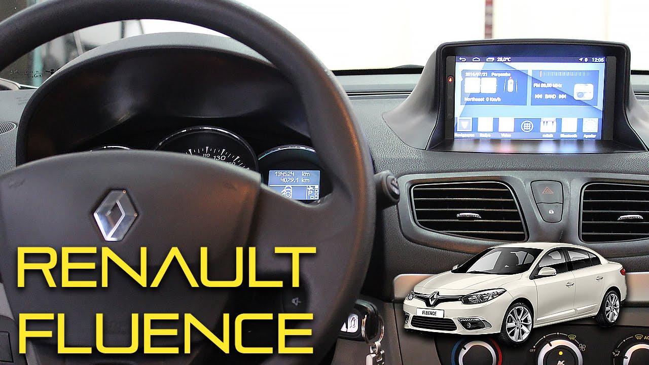 Renault Fluence Multimedya Sistemi Montaj Uygulamasi Youtube