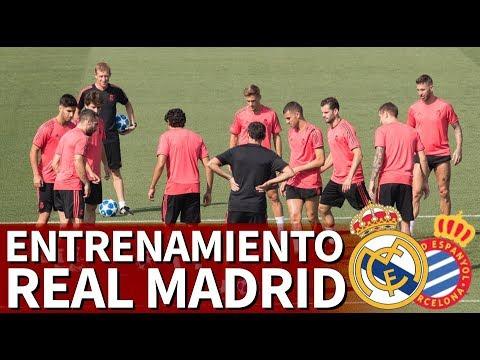 Real Madrid-Espanyol | Entrenamiento del Madrid en Valdebebas | Diario AS thumbnail