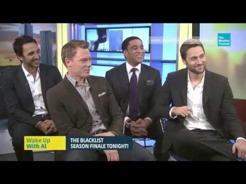 Ryan Eggold, Diego Klattenhoff, Amir Arison and Harry Lennix  WUWA