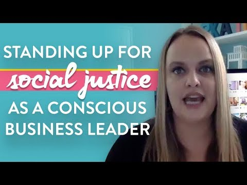 What Can Conscious Business Leaders Do To Stand Up Against Racism (Awkward Marketing, Episode 24)